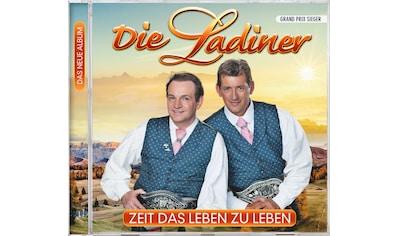 Musik-CD »Zeit das Leben zu leben / Ladiner,Die« kaufen