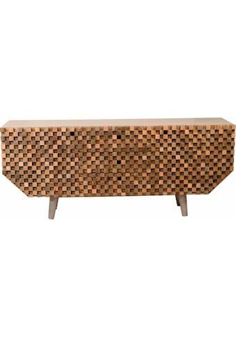 COUCH♥ Sideboard »Crookston«, mit wunderschönen Fräsungen im kleinen... kaufen