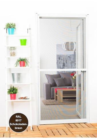 hecht international Insektenschutz-Tür »Master-Slim«, Bausatz BxH: 120x140 cm, braun kaufen