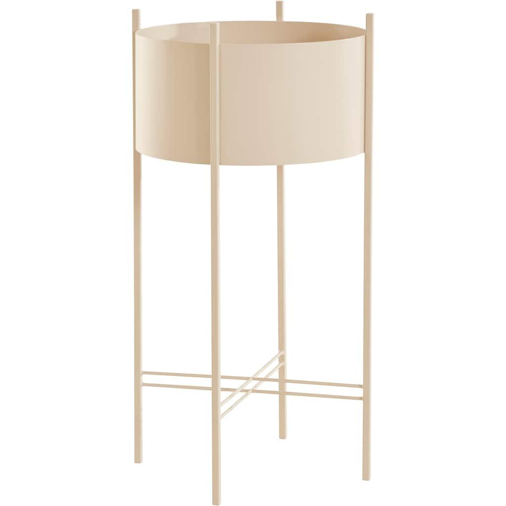 LeGer Home by Lena Gercke Pflanzkübel »Ruby«, Zeitloses Design, Gestell aus Metall
