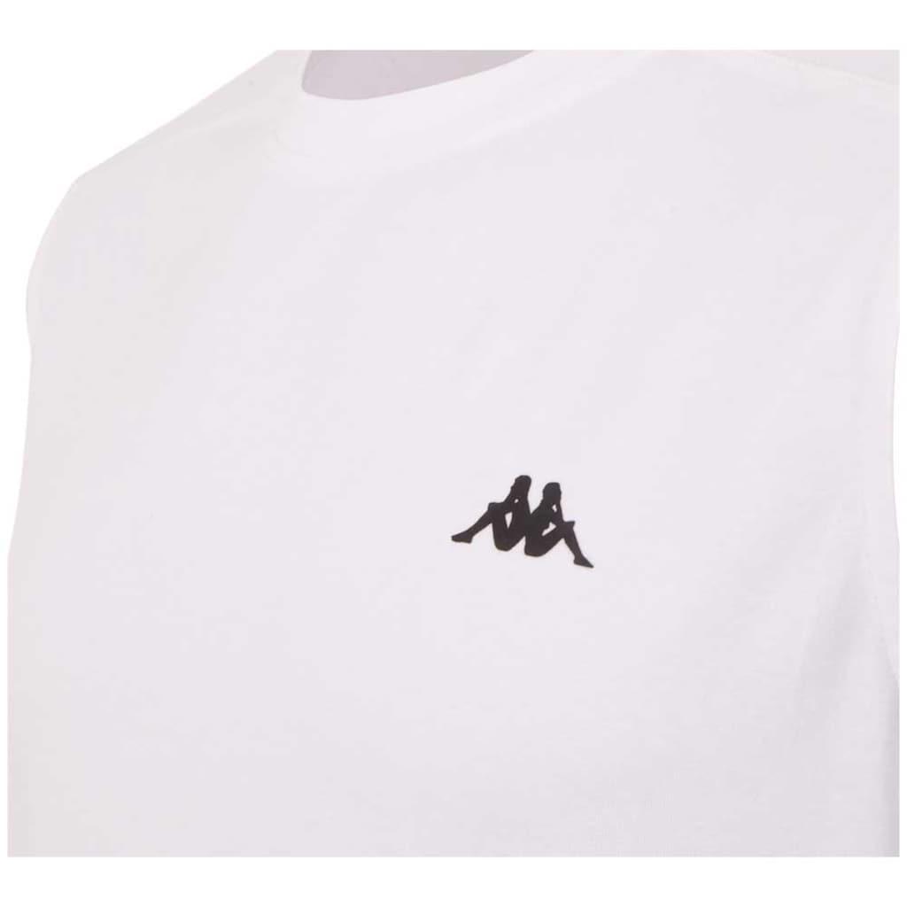 Kappa Rundhalsshirt »AUTHENTIC GIBRIL«, in pflegeleichter Baumwollmischqualit&auml;t<br />