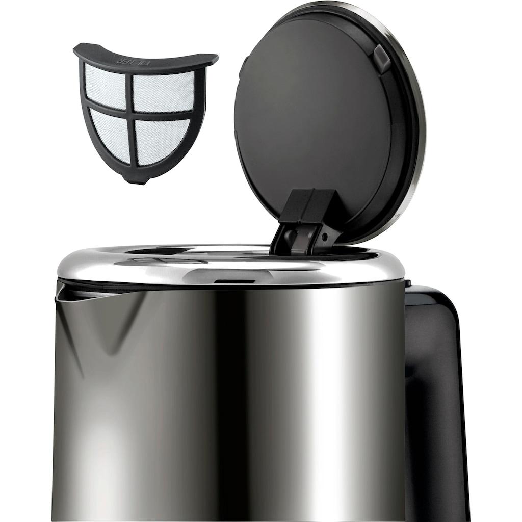 WMF Wasserkocher »KÜCHENminis®«, 0,8 l, 1800 W, Graphit