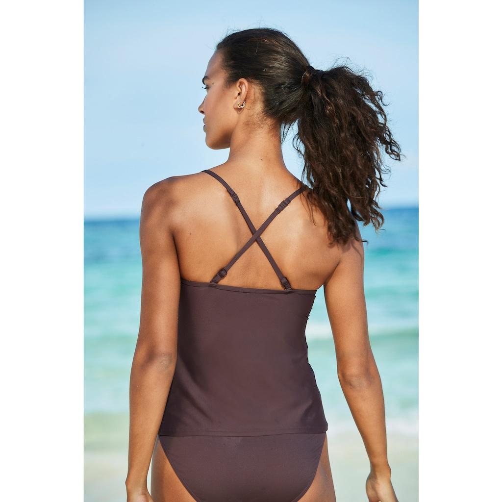 s.Oliver Beachwear Tankini-Top »Rome«, in verschiedenen Unifarben