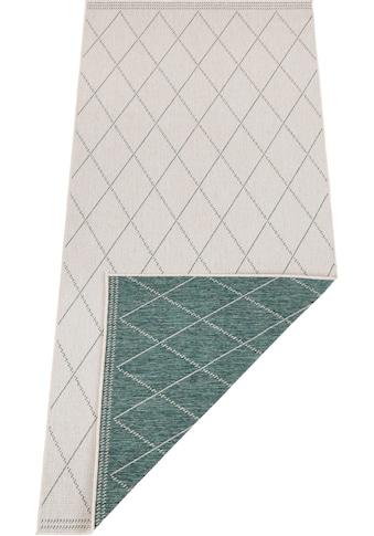 freundin Home Collection Läufer »Daisy«, rechteckig, 5 mm Höhe, In- und Outdoor geeignet, Wendeteppich kaufen