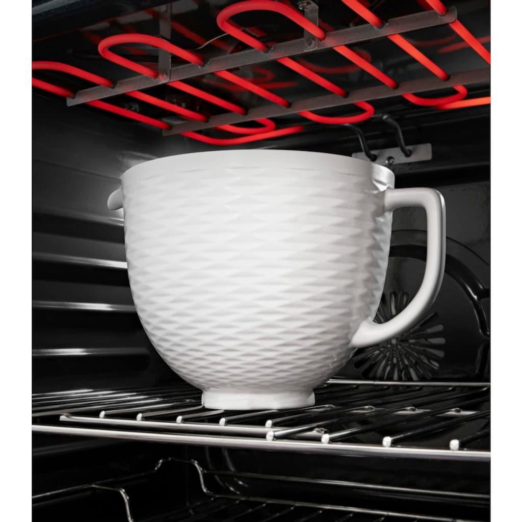 KitchenAid Küchenmaschinenschüssel »5KSM2CB5TLW, 4,7-L-Keramikschüssel«, für KitchenAid-Küchenmaschinen mit kippbarem Motorkopf