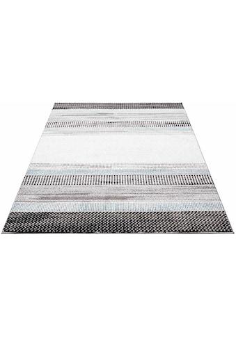 Carpet City Teppich »Moda 1142«, rechteckig, 11 mm Höhe, Kurzflor, Wohnzimmer kaufen