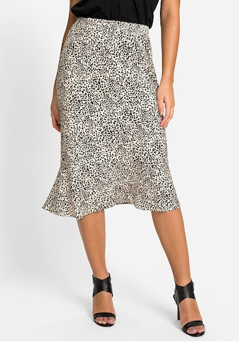 Olsen Sommerrock, mit Leopardenprint kaufen