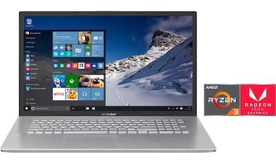 Asus VivoBook M712DA - BX065T Notebook (43,94 cm / 17,3 Zoll, AMD,Ryzen 3, 512 GB SSD) kaufen