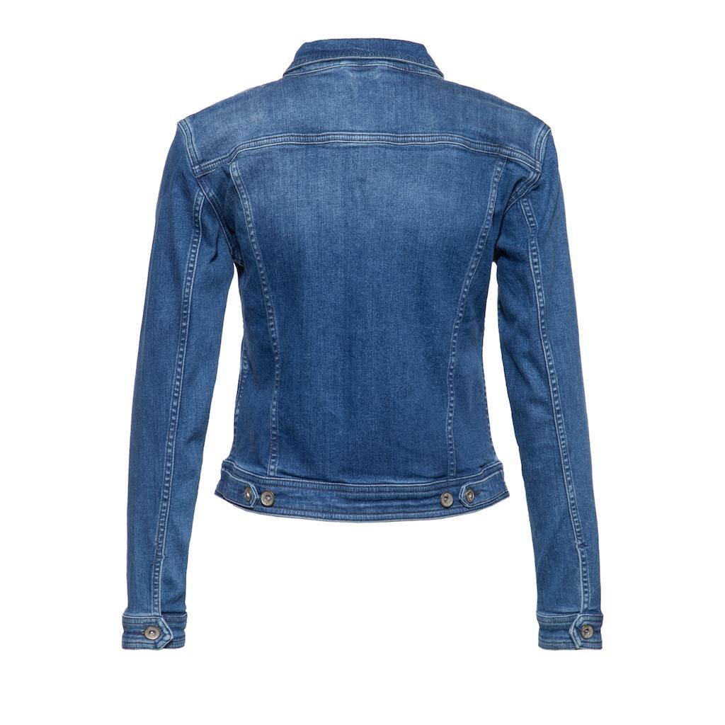 ATT Jeans Jeansjacke »Alicia«, im klassischen Design mit Waschungen
