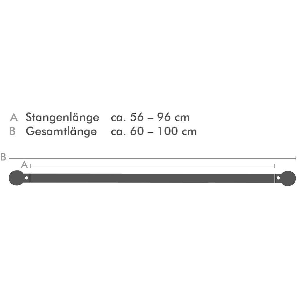 Good Life Scheibenstange »Vitrage«, 1 läufig-läufig, ausziehbar