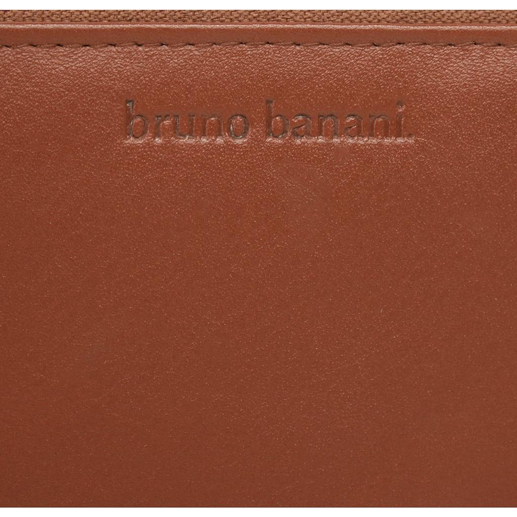 Bruno Banani Geldbörse, umlaufender Reißverschluss