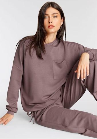 soyaconcept Sweater »SC-BANU32«, mit Kordelband im Saum kaufen