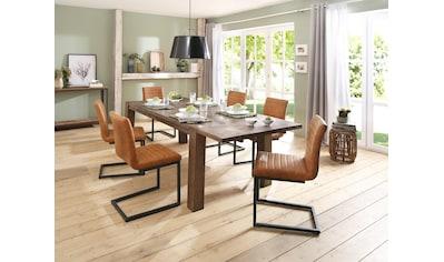 Home affaire Essgruppe »Alberte«, (Set, 7 tlg.), bestehend aus dem Sabina Stuhl +... kaufen