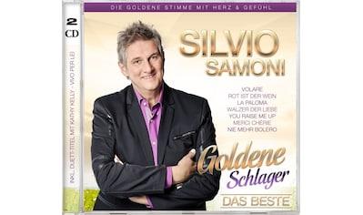 Musik-CD »Goldene Schlager-Das Beste / Samoni,Silvio« kaufen