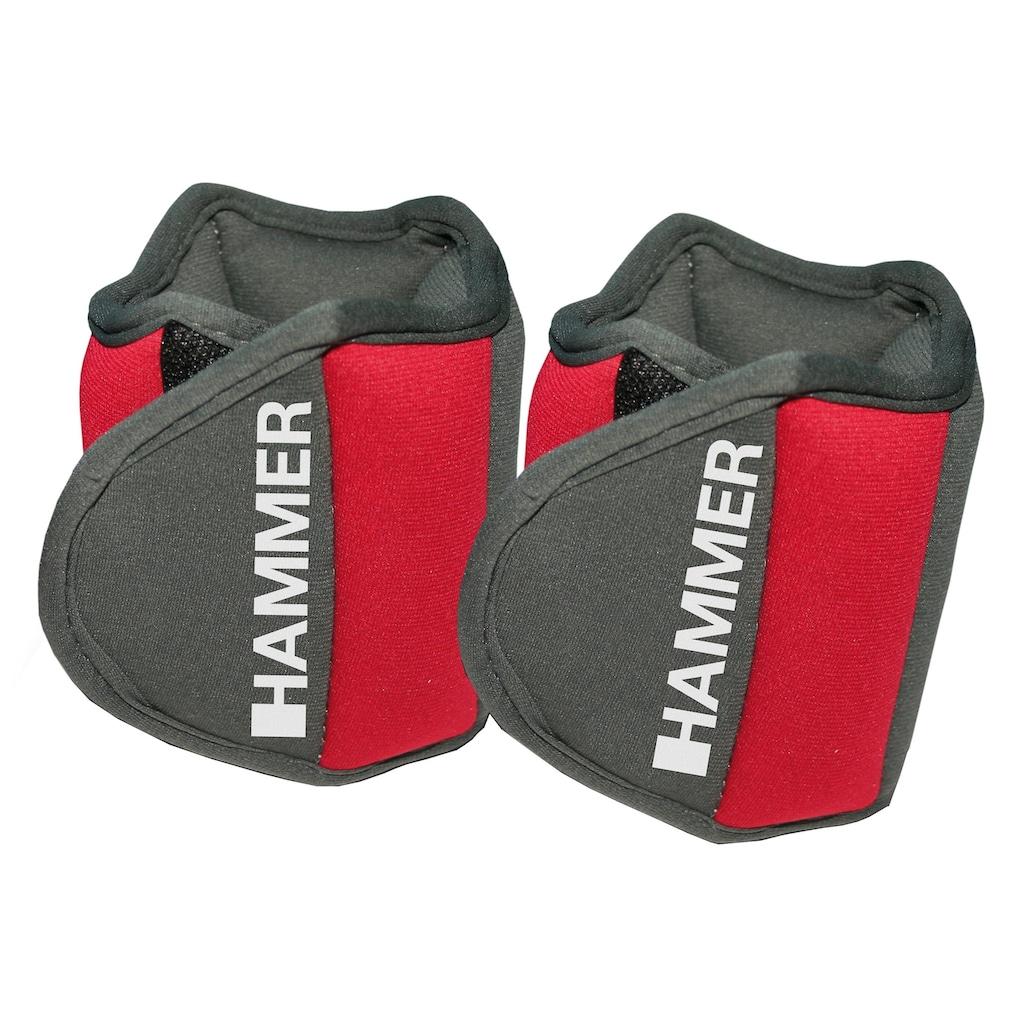 Hammer Gewichtsmanschette »Hammer Set: Gewichtsmanschetten«, 1,5 kg, (Set, 2 tlg.)