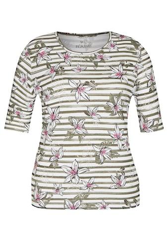 Rabe T-Shirt, mit gestreiftem Muster und kurzen Ärmeln kaufen