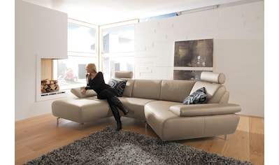 ADA premium Wohnlandschaft »Rooney«, wahlweise mit Schweberelax-Funktion kaufen