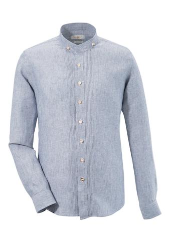 Almsach Trachtenhemd, aus reiner Baumwolle kaufen
