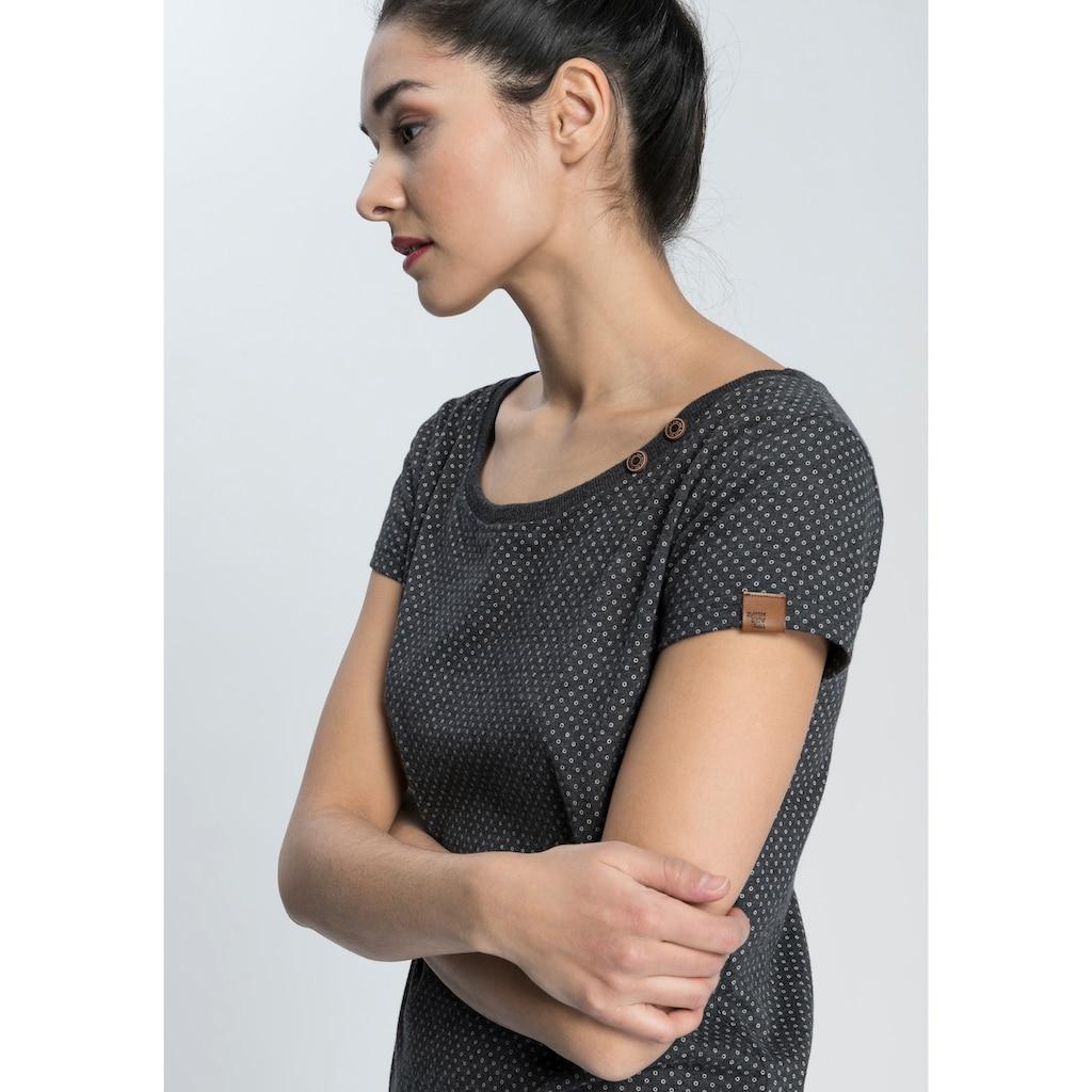 Alife & Kickin Jerseykleid »CocoAK«, (2 tlg., mit abnehmbarem Gürtel), bedrucktes Sommerkleid mit kleinem Knopfdetail