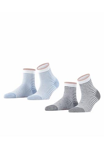 Esprit Socken »Wide Stripes 2-Pack«, (2 Paar), aus Biobaumwolle kaufen