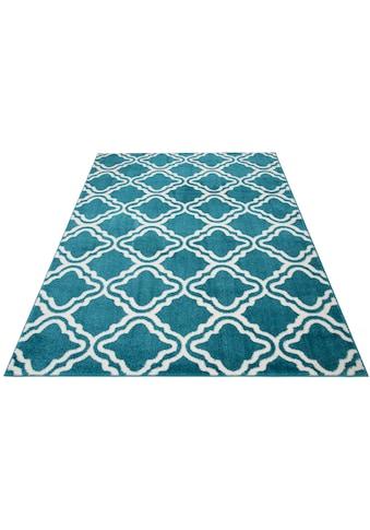 my home Teppich »Debora«, rechteckig, 13 mm Höhe, weiche Haptik, Wohnzimmer kaufen