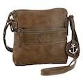 HARBOUR 2nd Mini Bag »B3-5775 al-Taliza«, aus Leder mit typischen Marken-Anker-Label und Schmuckanhänger