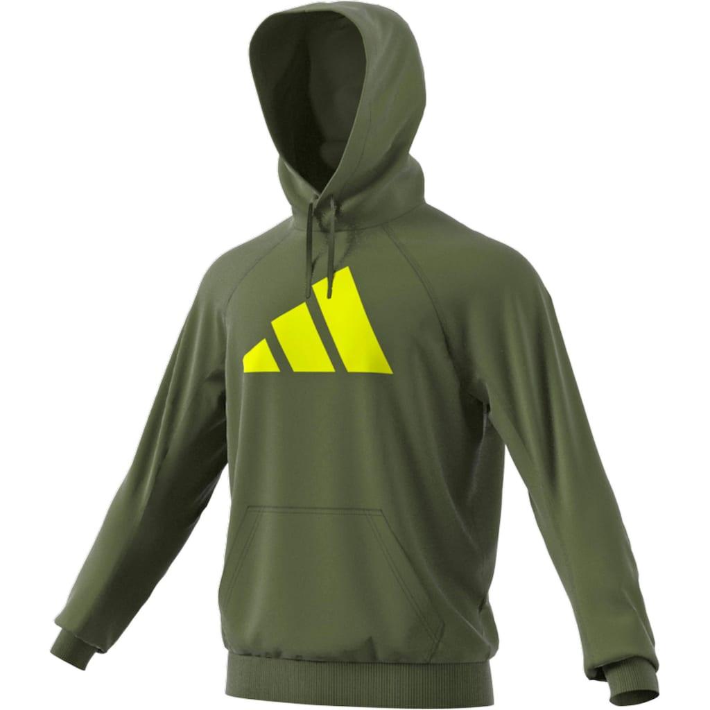 adidas Performance Kapuzensweatshirt »ADIDAS SPORTSWEAR BADGE OF SPORT«