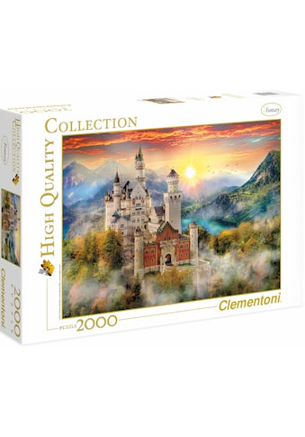 Clementoni® Puzzle »High Quality Collection - Neuschwanstein«, Made in Europe kaufen