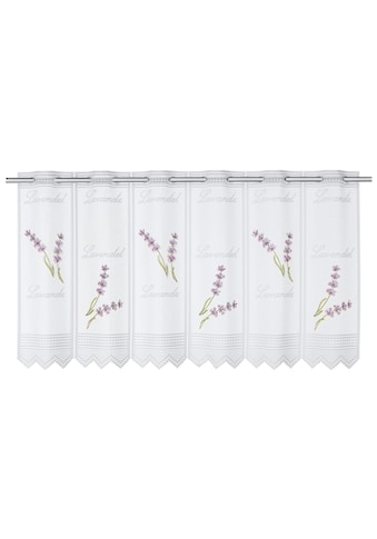 WILLKOMMEN ZUHAUSE by ALBANI GROUP Panneaux »Lavendel«, Jacquard-Lamellen-Pannaux kaufen
