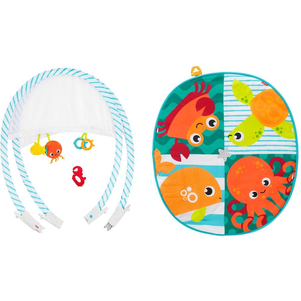 Fisher-Price® Baby Gym »Faltbare Meeres-Spieldecke«