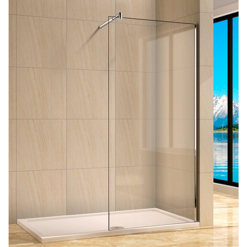 welltime Walk-in-Dusche »Rom«, Breite 90 cm, Duschabtrennung