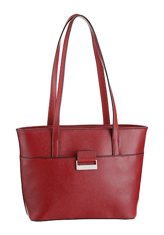 GERRY WEBER Bags Shopper »talk different ll shopper mhz«, in zeitloser Optik mit silberfarbenen Details kaufen