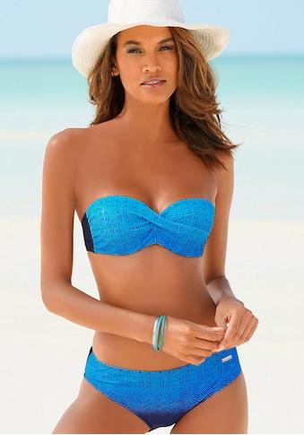 LASCANA Bügel-Bandeau-Bikini, mit Farbverlauf kaufen