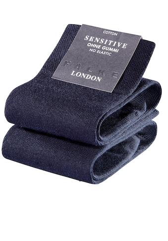 FALKE Socken »Sensitive London«, (2 Paar), mit sensitve Bündchen ohne Gummi kaufen