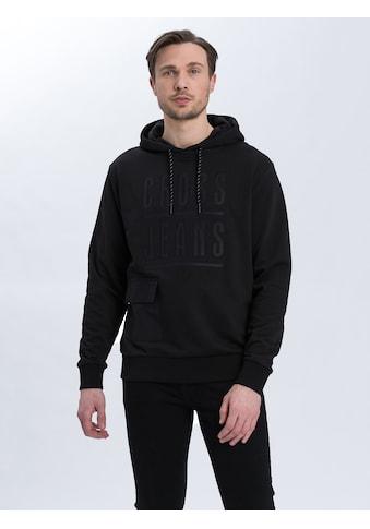 Cross Jeans® Hoodie »25272«, Hoody mit großzügig geschnittener Kapuze kaufen