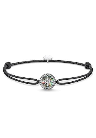 THOMAS SABO Armband »Little Secret Kompass Abalone Perlmutt, LS085-907-11-L22v«, mit... kaufen