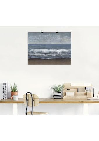 Artland Wandbild »Schleichendes Grau I« kaufen