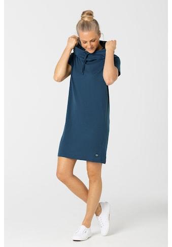 SUPER.NATURAL Sweatkleid »W FUNNEL DRESS«, pflegeleichter Merino-Materialmix kaufen