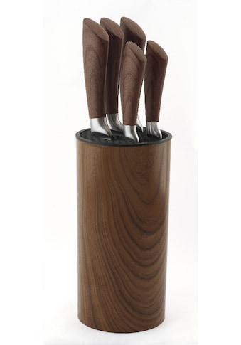 Esmeyer Messerblock »Nebraska«, 6 tlg., aus schwarzem Kunststoff kaufen