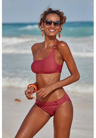 s.Oliver Beachwear Bikini-Hose »Rome«, mit Ziergürtel kaufen