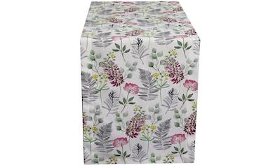 HOSSNER - HOMECOLLECTION Tischläufer »32487 Flora« kaufen