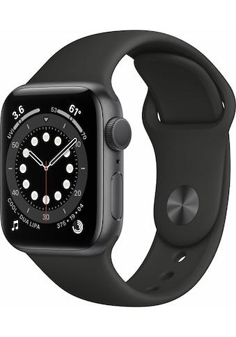 Apple Smartwatch »Apple Watch Series 6 GPS, Aluminium Gehäuse, 44 mm mit Sportarmband«, ( ) kaufen