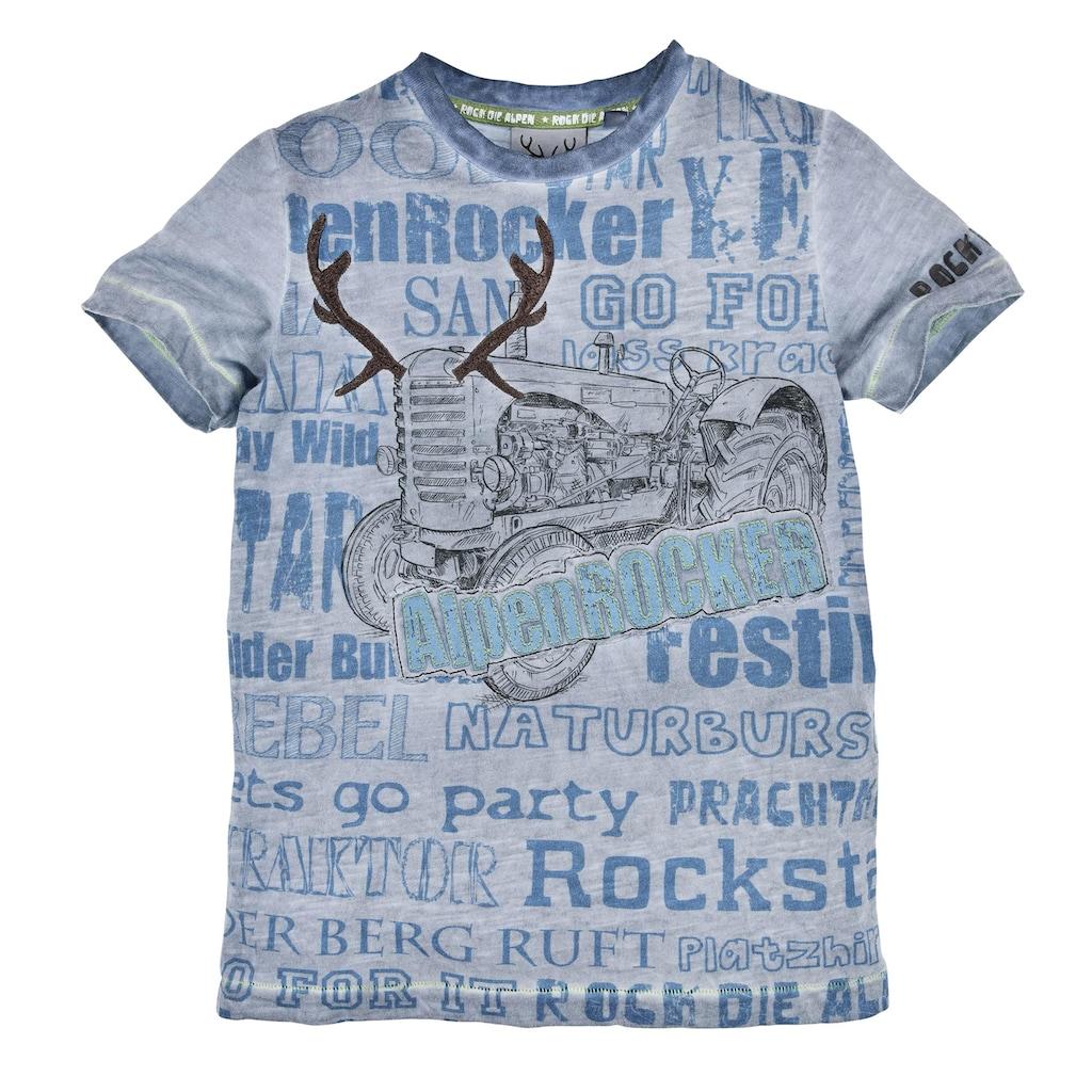 BONDI Kurzarmshirt, mit coolen Statement Sprüchen