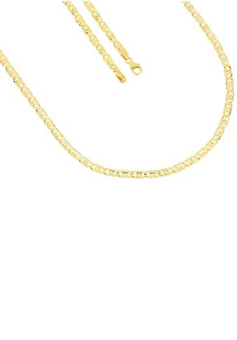 Firetti Goldkette »in Tigeraugenkettengliederung, 3,5 mm breit, diamantiert, konkav« kaufen