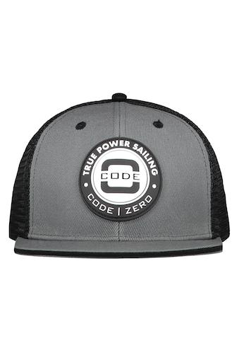CODE-ZERO Snapback Cap »True Power Mesh Flat Cap«, Ösen kaufen