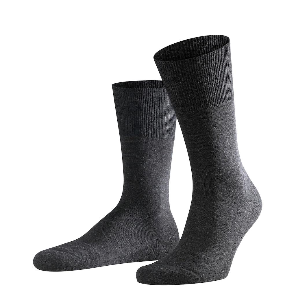 FALKE Socken »Airport Plus«, (1 Paar), mit Sohlenpolsterung