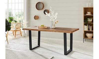Duo Collection Baumkantentisch »Tabea«, mit Baumkantenoptik kaufen