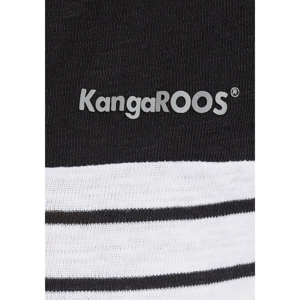 KangaROOS Shirtkleid, mit cooler Kapuze