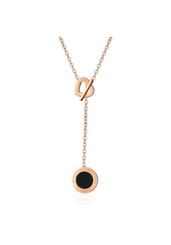 AILORIA Kette mit Anhänger »AMANDINE Halskette Roségold« kaufen