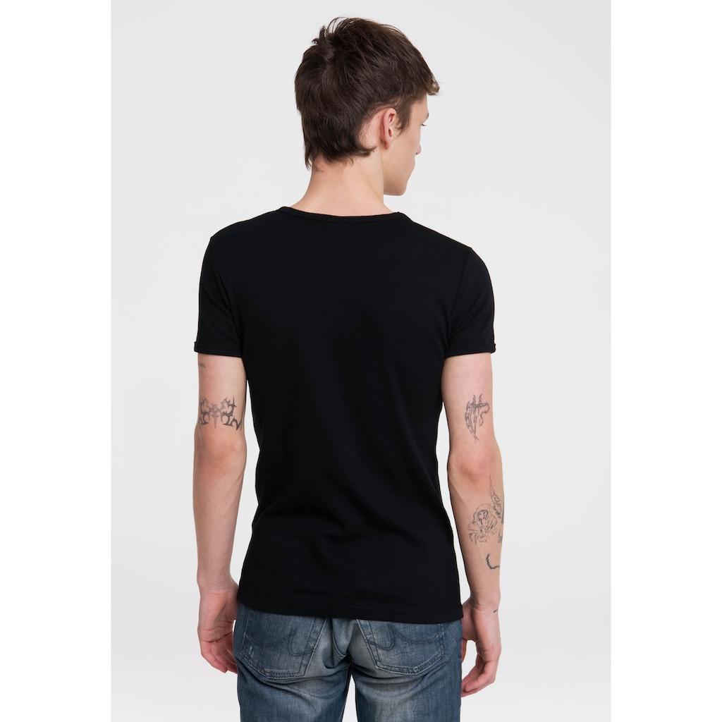 LOGOSHIRT T-Shirt »Clint Eastwood«, mit kontrastfarbenem Print